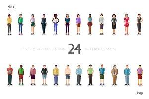 Casual people collection