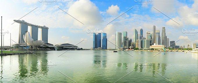 Singapore panoramic view.jpg - Architecture