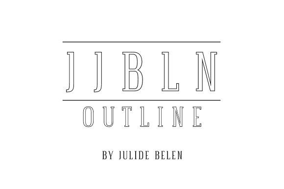 JJBLN Outline Regular