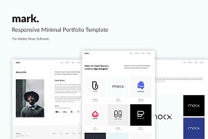 mark. - Portfolio Muse Template