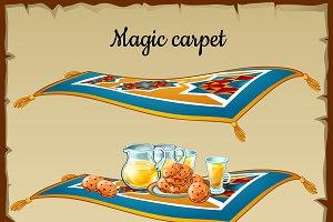 Magic carpet food