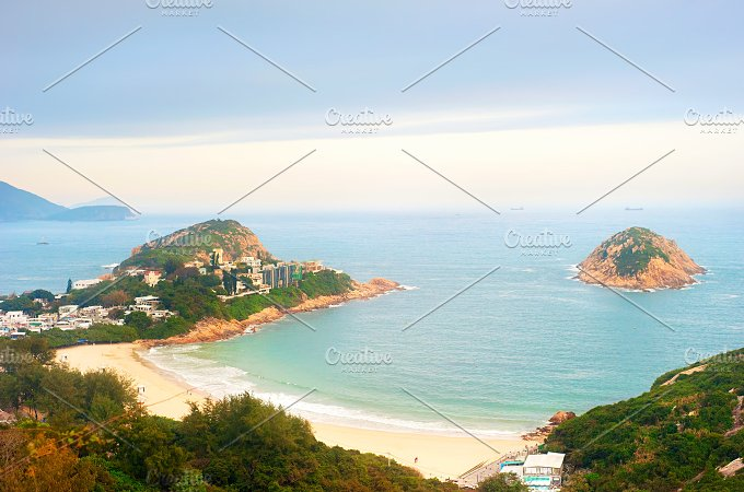 Shek O beach in Hong Kong.jpg - Architecture