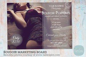 IL004 Boudoir Marketing Board x2