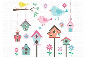 Little Birds Clipart
