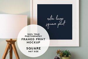 XL Square Print Mockup