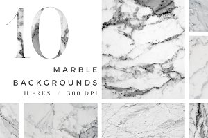 10 Hi-Res Marble Backgrounds