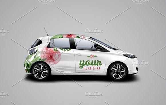 Car Mockup - Product Mockups