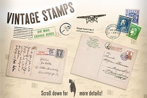 Vintage Stamps One