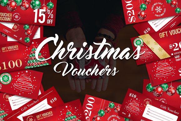 12 Christmas Voucher - Cards