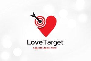 Love Target Logo Template