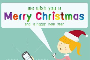 send message merry Christmas