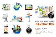 Realistic Navigation Elements