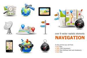 Realistic Navigation Elements