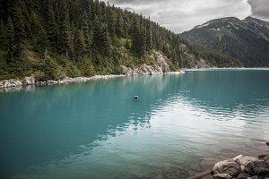 Blue Glacier Water BC Canada