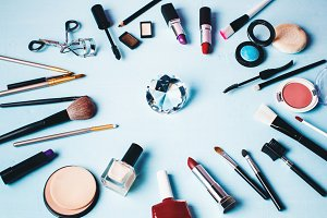 Various Make up Products