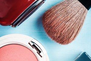 Brush and Nail Polish