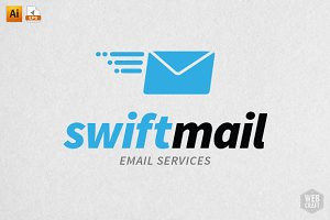 SwiftMail Logo Template