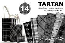 Tartan seamless plaid patterns