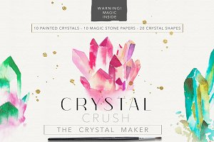 Crystal Crush - the crystal maker