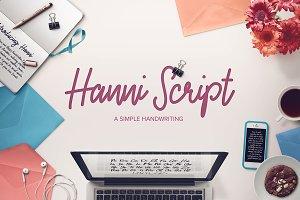 Hanni Script