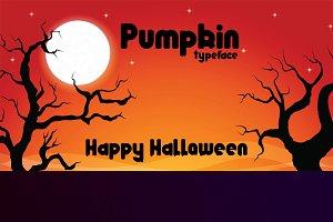 Pumpkin typeface