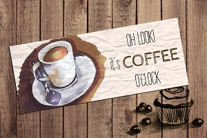 coffee card template