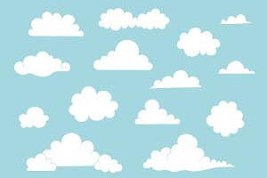 Cartoon Cloud Collection
