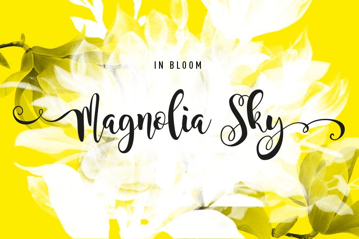 Magnolia Sky ~ Fonts ~ Creative Market