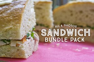 Sandwich Pack - 4 Photos