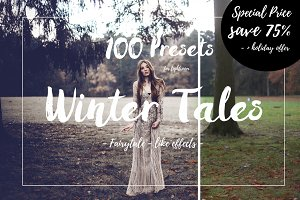 100 Fairytale Lightroom Presets