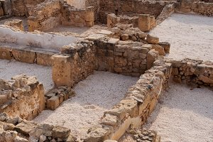 Ancient Ruins Of Kato Pafos Archaeological Park, Paphos, Cyprus