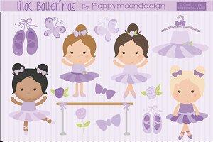 Lilac Ballerinas