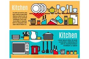 Kitchen banners