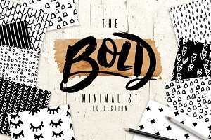 Bold Minimalist- Hand Drawn Patterns