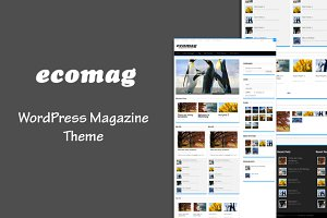 EcoMag – WordPress Magazine Theme