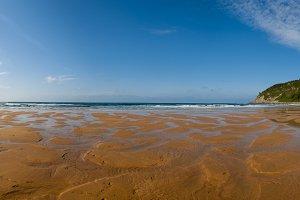 Rodiles beach panorama