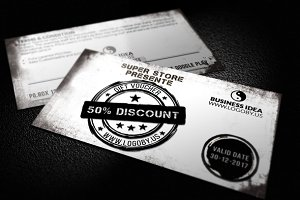 Black & White Gift Voucher