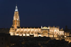 Cathedral of Toledo, Spain.