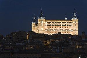 Alcazar of Toledo, Spain.