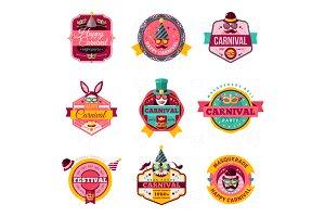 Carnival labels