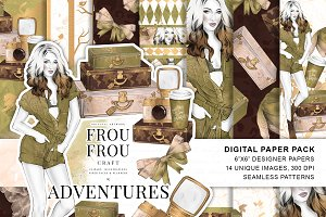 Adventure Girl Paper Pack