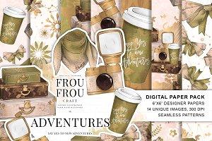 Travel Girl Paper Pack