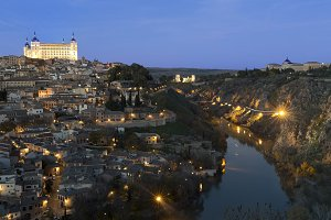 View of the city of Toledo.