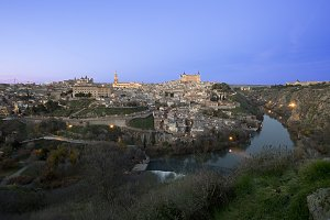 View of the city of Toledo