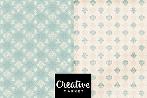 Background Blue Vintage