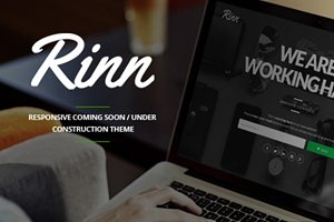Rinn - Responsive Coming Soon