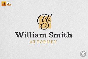 William Smith Attorney/Legal Logo