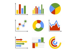 Business Graph and Chart Set