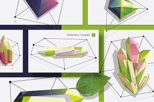 Greenery Crystals