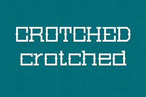 Crotched - Typeface
